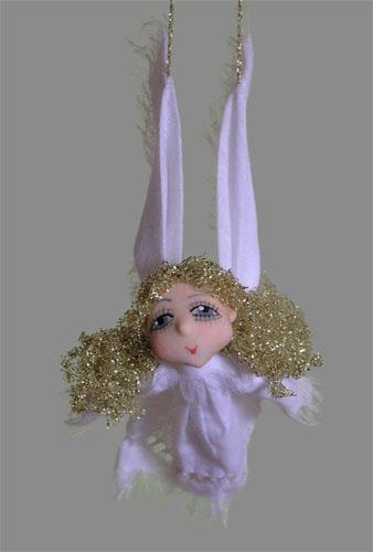 Ангелочек  авторская кукла