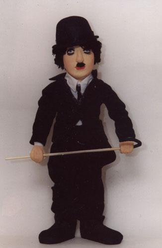 Чаплин  авторская кукла