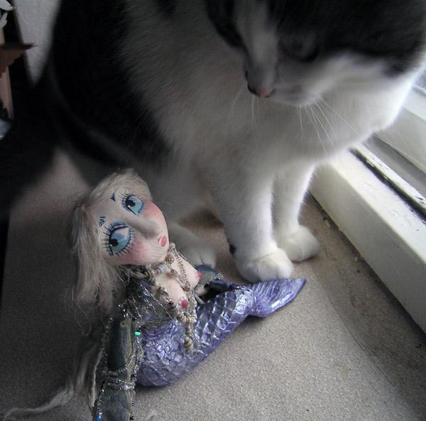 Русалка  авторская кукла