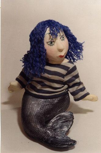 Русалки  авторская кукла