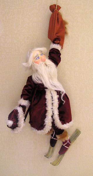 Дед Мороз  авторская кукла