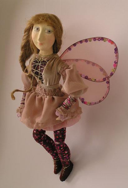 Влюблённые эльфы  авторская кукла