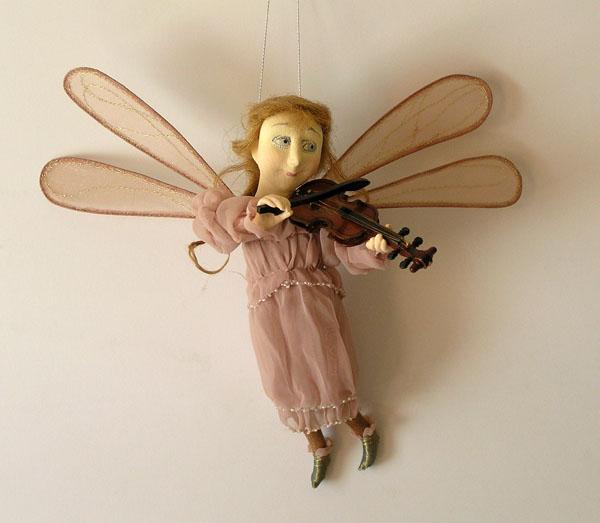 Эльфы  авторская кукла
