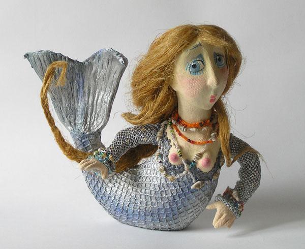 Русалочка  авторская кукла