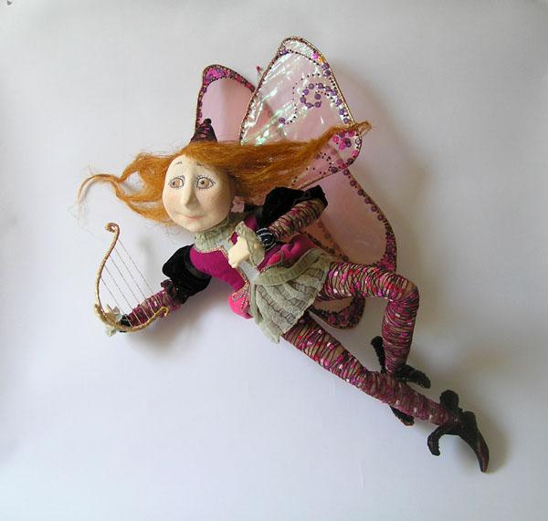 Рыжий Эльф  авторская кукла