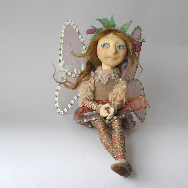 Эльфочка  авторская кукла