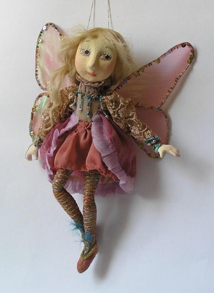 авторская кукла Эльфочка