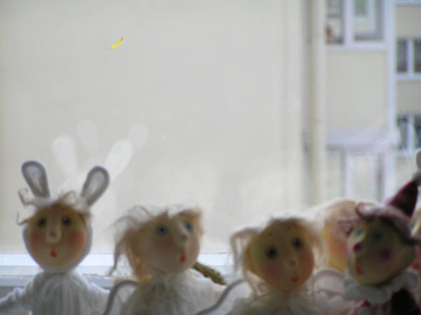 Авторские куклы папье-маше текстиль